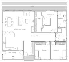 Simple 3 Bedroom House Plans 3 Bedroom Floor Plans Floor Plan For Long Beach Resorts Three