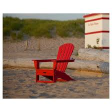 polywood palm coast adirondack chair with pull out ottoman target