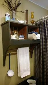 16 best home decor images on pinterest wicker ottomans and primitive bathroom cubby towel rack