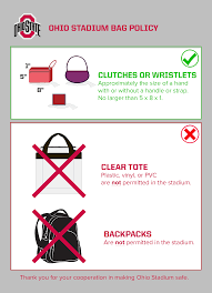 Osu Umbrellas by Ohio State Implements Clear Bag Policy For Michigan State Home