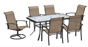 outdoor table sets sale amazon com 7 piece dining set perfect for any outdoor dining set