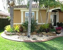 design for front yard tropical landscape design front yard
