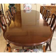 ethan allen kitchen table ethan allen dining table w 8 chairs upscale consignment