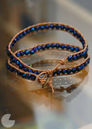diy a version of the expensive chan luu wrapped beaded bracelets