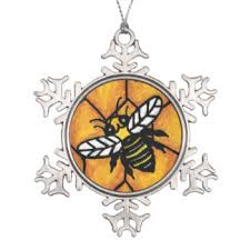 cartoon bumble bee ornaments u0026 keepsake ornaments zazzle