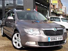 used 2010 skoda superb 2 0 tdi cr dpf elegance dsg 5dr estate