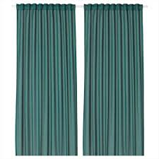ikea curtain hacks grommet top hack ikea sanela curtains green nosew just a and