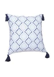 scarves and matching pillows bed of tennessee fabric rag decorative throw pillows belk