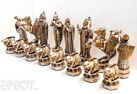 Interesting Chess Sets Epbot My Harry Potter Wizards U0027 Chess Set Makeover