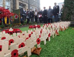 remembrance services parades and road closures across gwent in