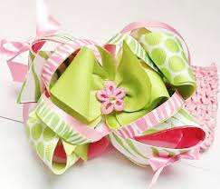 hair bows galore creative desire s bows galore kid couture pink green