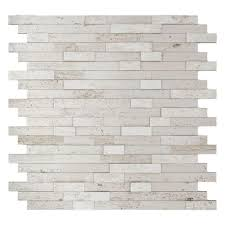 Inoxia SpeedTiles Himalayan  In X  In Stone Adhesive - Home depot tile backsplash