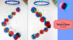 Welcome Baby Home Decorations Diy Wind Chime Diy Wall Hanging Out Of Paper Home Decoration