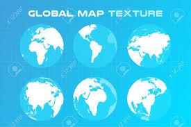 Vector World Map World Vector Map Globe Earth Texture Map Globe Vector Map View