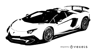 car lamborghini drawing luxury racing car lamborghini vector download