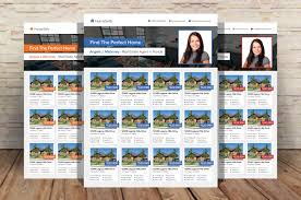 real estate listing template real estate listings flyer template flyer templates creative