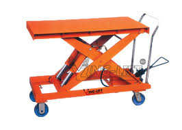 Hydraulic Scissor Lift Table by Heavy Duty Pedal Operated Hydraulic Scissor Lift Tables Large Foot