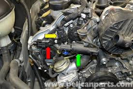 mercedes benz w204 camshaft position sensor replacement 2008