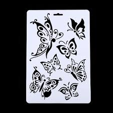 compare prices on butterfly painting stencil online shopping buy