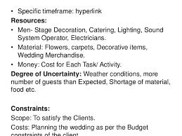 Wedding Planner Degree Wedding Project Management