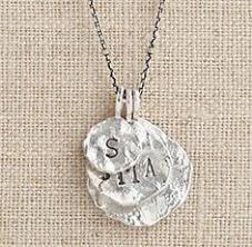 Baby Personalized Jewelry Sterling Silver Personalized Toggle Necklace Jewelry For Moms