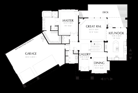 Contemporary Plan by Mascord House Plan 1312 The Cogan