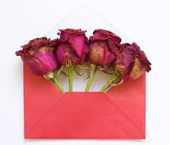 love letters with dried flower pictures images and stock photos