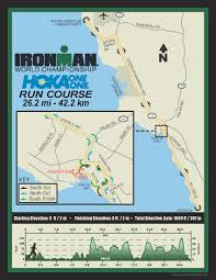 Map Of Hawaii Big Island Ironman World Championship Course Ironman Official Site