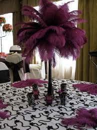 feather centerpieces candi s floral creations ostrich feather centerpiece for rent