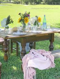 tips for hosting a spring outdoor dinner unexpected elegance