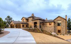 4 car garage custom copperleaf home multi levels stone stuckel and 4 car