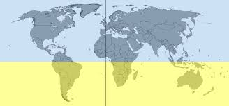 what are the countries that are located in the southern hemisphere