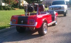 custom 1965 ford mustang gas powered golf cart nissan titan forum