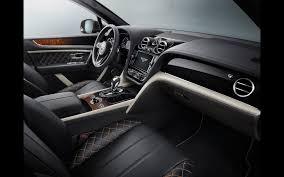 bentley 2017 interior 2017 bentley bentayga mulliner serious wheels