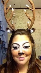 Deer Antlers Halloween Costume Large Cosplay Roe Deer Antlers Gothfoxdesigns Etsy