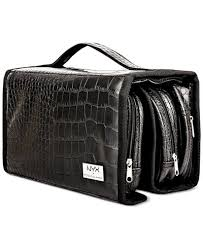 professional makeup carrier nyx professional makeup black croc embossed deluxe makeup bag