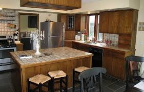 Kitchen Backsplash Dark Cabinets Backsplash Tile For Dark Cabinets U Shaped Brick Kitchen Island