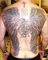 cross angel wings tattoo designs u2014 wow pictures wonderful angels