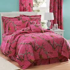 girls realtree ap fuchsia camo crib bedding