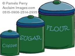 green canisters kitchen kitchen canisters for coffee sugar and flour royalty free clip