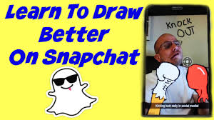 snapchat tricks learn how to draw better and more defined to make
