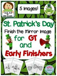 2nd 3rd or 4th grade st patrick u0027s day