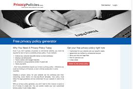 Privacy Policy by 10 Free Privacy Policy Generators Inspirationfeed