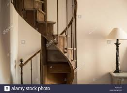 spiral stairway wooden stock photos u0026 spiral stairway wooden stock