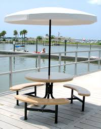 heavy duty round picnic table round fiberglass picnic table picnic tables belson outdoors