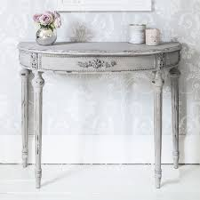 Console Table Used As Dining Table Half Moon Table For Aesthetical Look Hometowntimes Linda G