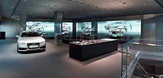 audi dealership exterior audi puts a digital world in the heart of the city autokinesis