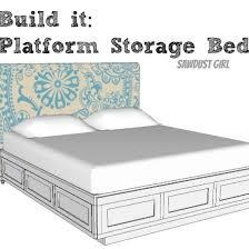 as 25 melhores ideias de diy platform bed plans no pinterest