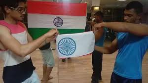 Flag Folded Into Triangle National Flag Fold Indian Flag Folding Of National Flag Youtube