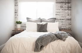 Scandinavian Inspired Bedroom Reclaimed Home Decor Ideas Stikwood Diy Wood Wall Ideas